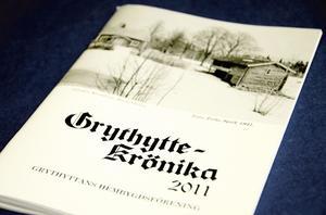 Klar. 2011 års upplaga av Grythyttekrönikan utgiven av Grythyttans hembygdsförening är nu klar.