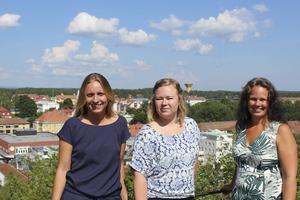 Johanna Kallio, Sofie Ström och Malin Åhman har alla varit involverade i utbildningen, i olika roller.