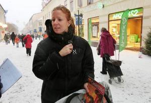 Anna Jansson från Östersund amorterar rejält för att känna ekonomisk trygghet och för att någon gång i framtiden förhoppningsvis äga sin bostad.