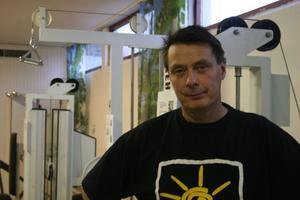Bengt Pantzare fick nya träningslokaler i våras som används i rehabiliteringen av bland andra stroke drabbade patienter.