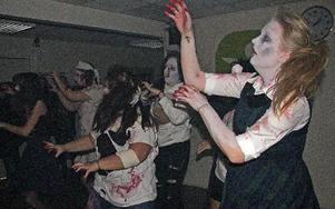 Zombiedans till Michael Jacksons Thriller.