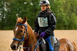 Victoria Boberg från Åsbro ska rida tolv mil i VM i italienska Verona.