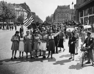 Paris befriades från nazisterna i augusti 1944.