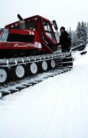 Pelle Berglund har själv alltid varit intresserad av slalom. Från och med den här säsongen är han ordförande i Getbergets Alpina idrottsförening och förbereder ett tätt samarbete med bygdens övriga aktörer inom besöksnäringen.