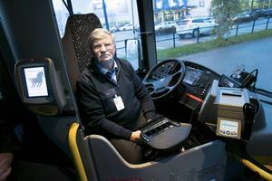 Per Lundqvist hotar att stoppa all busstrafik i Borlänge.