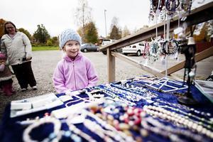 Sigrid Håkas gillade smyckena bäst.