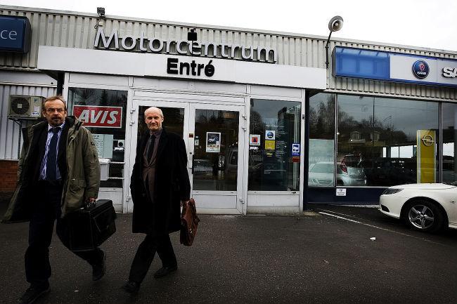 Motorcentrum i konkurs
