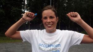 Karin Boström, Örnsköldsvik, var snabbast över 12 kilometer i damklassen.