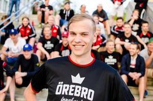 Marcus Hjelm, startade sin karriär i Skogsgymnastiken