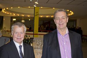 Två av ABB:s dubbelveteraner är Kjell Axelsson på Robotics i Västerås och Hans Nilsson på Power Grids i Ludvika.
