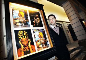 Premiärklart. Jonas Elverstig, Gävle teaters intendent, presenterar vårens föreställningar.
