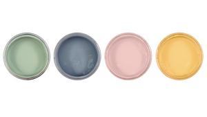 Milda nyanser inspirerade av gamla tiders kulörer är färgerna i Byggfabrikens serie Auro. Det är miljövänliga naturhartsfärger.