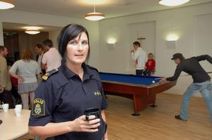 GLAD. Ulrica Hillerstig en av eldsjälarna bakom ungdomsnätverket i Tierp. Här en bild från Allaktivitetshuset i Tierp 2008 – samma år som ungdomsnätverket bildades.