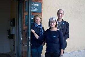 På mottagningen Unga vuxna arbetar bland annat socionom och psykoterapeut Gunilla Östlund, psykolog Lisa Pehrson och enhetschef Ulf Mårdberg för att fånga upp unga i åldrarna 16-24 år med psykisk ohälsa. I år firar mottagningen 10 år.