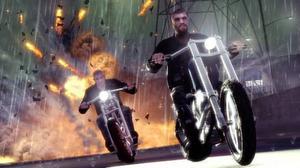 "MC-gängen tar över  Liberty city i spelet ""The lost and the damned""."