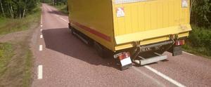 Läsarbild på lastbilen.