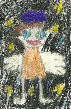 Vidar Östman, 6 år, Ågårdarna, Hallen.