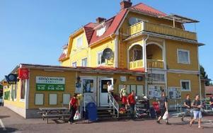Coop Konsum på Sollerön går mot en ljus framtid. Foto: Rebecka Ramstedt/DT