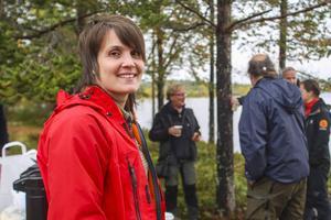 Vi ser i våra hänsynsuppföljningar att det fortfarande blir skador på forn- och kulturlämningar i skogsbruket, säger Terese Olofsson, arkeolog på skogsstyrelsen.