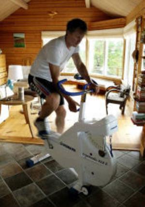 Fredrik Nybergs rehabilitering börjar att ge resultat.