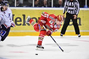 Carl Grundström är en av 14 forwards i truppen.