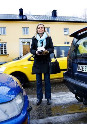 Eva Forslund, chef på trafiksektionen, säger att förändringen fått positivt gensvar.