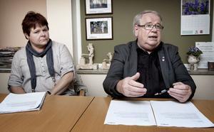 Monica Forsgren och Leif Nilsson tror att de nu har hittat en väg att lösa personal- och ekonomiproblematiken inom äldreomsorgen.