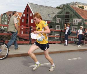 Jerker Lysell körde hårt på Trondheims gator.