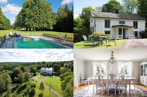 Utanför Fredriksberg ligger Gravendals Herrgård med anor från 1700-talet, som är till salu för fem miljoner kronor.