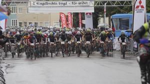 Rekordmånga deltagare hade anmält sig till Engelbrektsturen 2015.