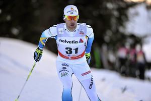 Anders Södergren hoppades få avsluta karriären med en VM-femmil. Så ser det inte ut att bli, istället är Södergren förstereserv i det svenska landslaget.