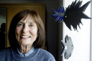 KERAMIK OCH ANNAN KONST. Gunilla Westling är sommarboende i Hästbo ställer ut keramik och tavlor på bygdegårdsmuseet på Mårtensgård.