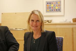 Marie-Louise Forsberg-Fransson, verksamhetschef för medicin och geriatrik vid Lindebergs lasarett.