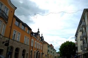 Julpyntet fick vara kvar till juli. FOTO: Lina Svalbro