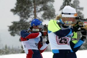 Ted Armgren var snabbast bland de äldre herrarna och Bores Emelie Larsson var bäst bland damerna. Foto: Håkan Degselius