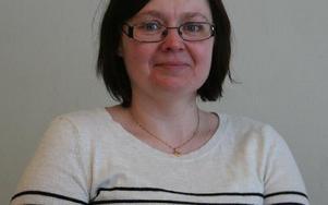 Åsa Strömberg, rektor på Bergaskolan. Foto: Klara Johansson