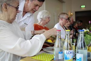 HRF Bollnäs-Ovanåker firade 60 år med en trerätters middag.
