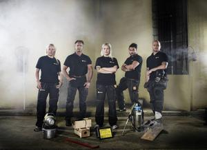 I höst kan vi följa systrarna Okfors från Sundsvall i programmet Råttjägarna på Kanal 5.