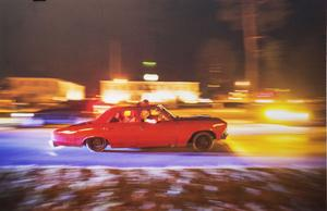 Färg och fart visar Lennart Edvardsson på Rättviks kulturhus