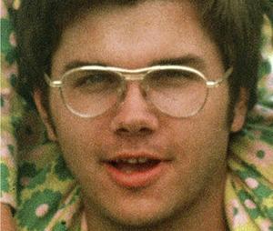 Mark Chapman på ett foto från 1975.