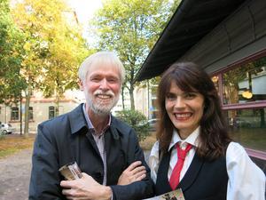 Tommy Berger, landstingspolitiker för S, och Alexandra Zetterberg Ehn, skådespelare.