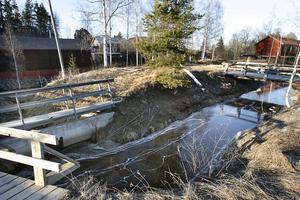 Arbetena vid Kvarndammen måste ske när vattenföringen är låg, och därför inleds projektet utan dröjsmål.