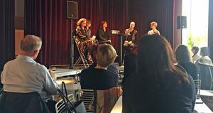 Det var fullt i Teatercaféet när sexismen inom operan debatterades.