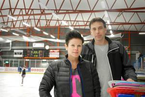 Angelica Ekholm, ordförande, och Thomas Almquist, suppleant i Borlänge kk:s styrelse.