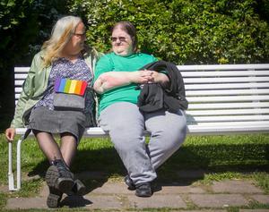 Maria och Gunilla tvingades att skilja sig för att Maria skulle kunna ändra könstillhörighet från man till kvinna. Nu är paret gifta på nytt.