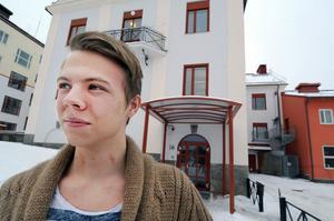 Oskar Myrberg är styrelseordförande i Bollnäs första ungdomsråd.