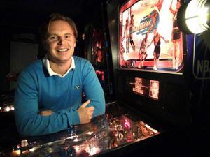 – Kommer jag till slutspel kan jag gå hur långt som helst. Där kan vad som helst hända, säger Joakim Bengtsson, som nu laddar för kommande SM-tävlingar i flipperspel i början på november.