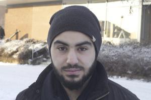 Mohammed Awad, Fagersta: – Ja, men i Stockholm, inte i Fagersta. Jag såg en skräckfilm, som jag inte minns namnet på. Jag gillar skräckfilm.