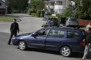 Olyckan inträffade vid korsningen Gamla vägen/Storgatan i Bergsjö.