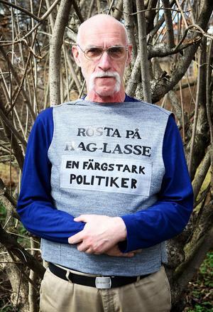 De som skrivit motionen vill bli av med gräsrötterna i fullmäktige, hävdade Hag-Lasse Persson (S).Foto: Gunne Ramberg/Arkiv